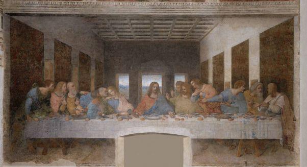 Тайная вечеря. 1495-1498. Леонардо да Винчи