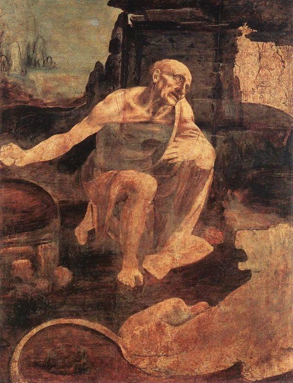 Святой Иероним. Леонардо да Винчи