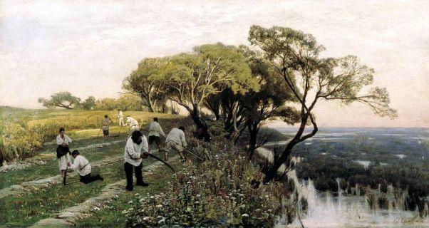 Косари. 1878