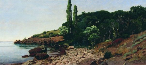 Крымский берег. 1890