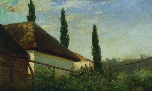 Летом на хуторе. 1880-е