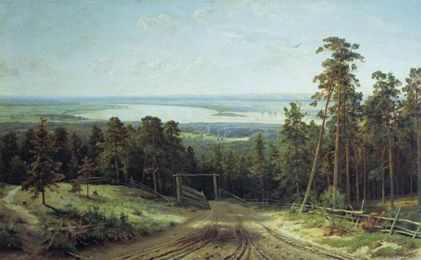 Кама близ Елабуги