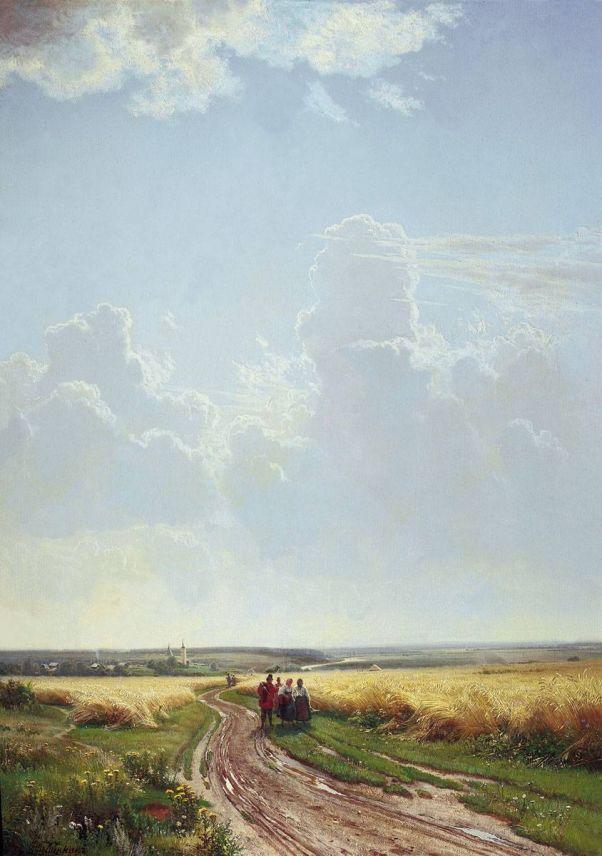 Иван Шишкин (1832-1898). Полдень. В окрестностях Москвы