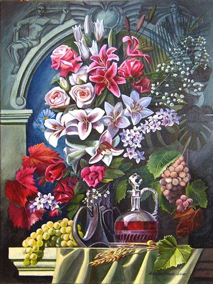 Натюрморт с вазой /  Aleksej Smirnov