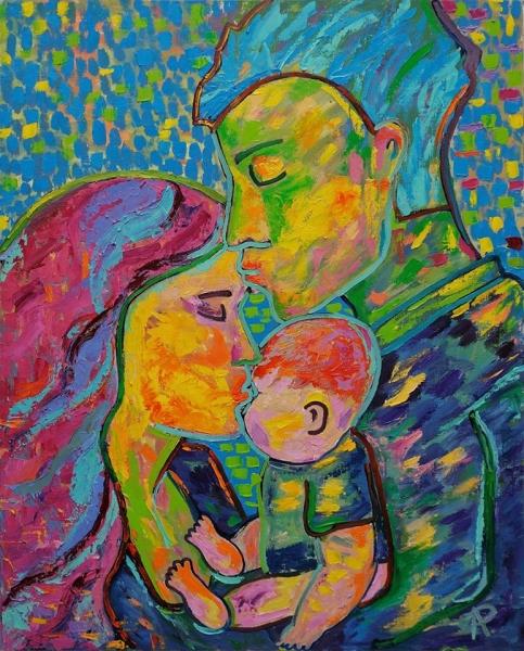 Семейный поцелуй