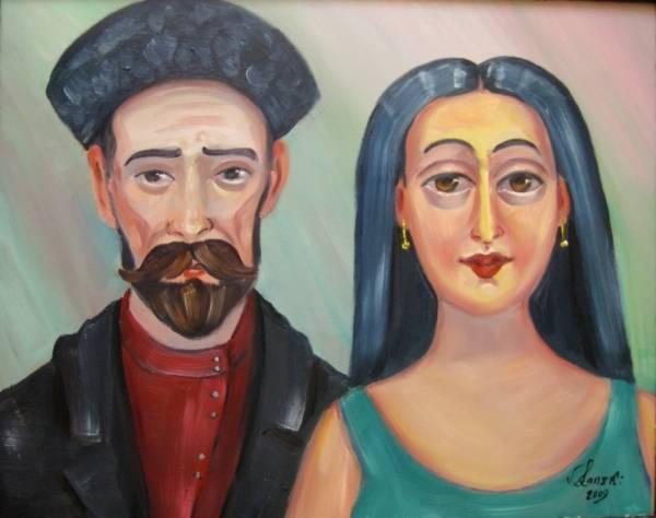 Нико Пиросмани и Маргарита