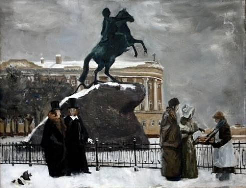 Медный Всадник в XIX в.