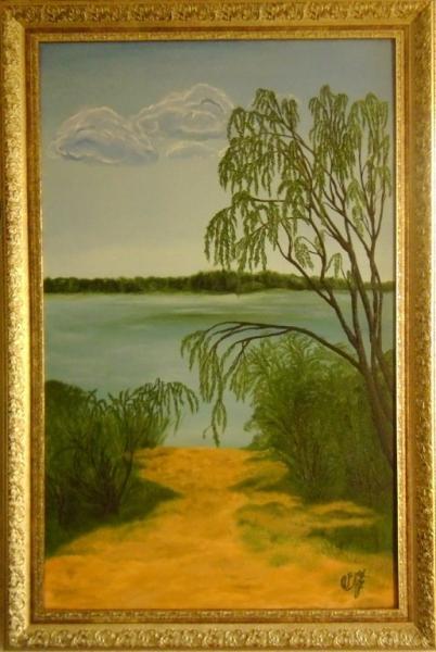 Озеро Левки