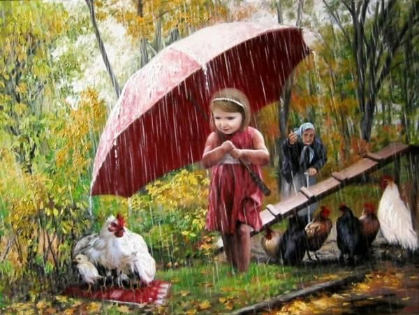 Маленькая спасительница. /  Виктор Арсени