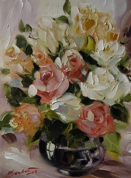 Букет роз /  Альбина Шуберт