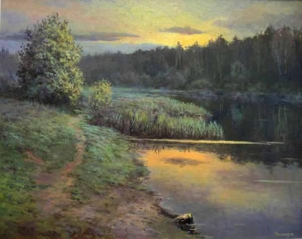 Рассвет на Сетуньке /  Станислав Малярчук
