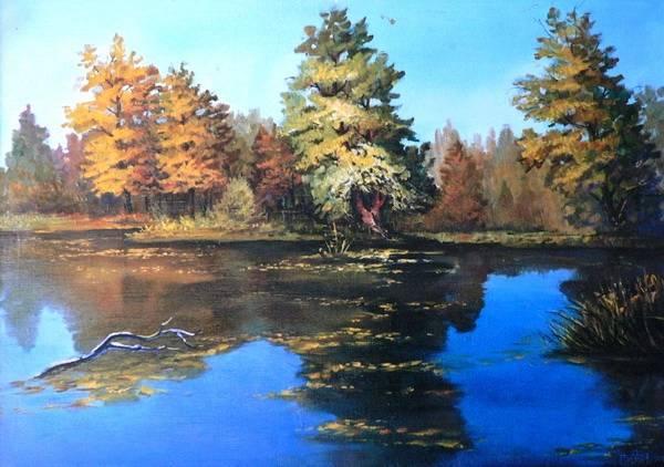 Осенний островок