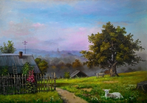 На краю села / Игорь Лобович