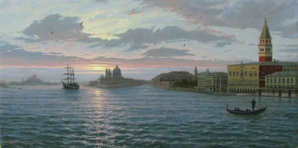 Раннее утро. Венеция.