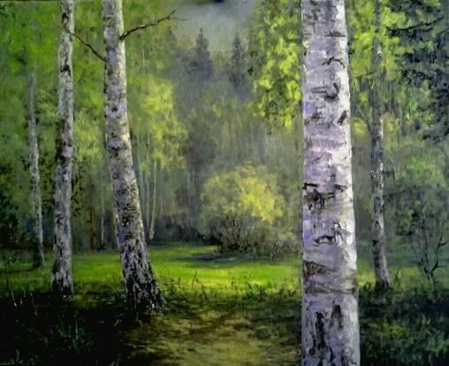 Весенний лес