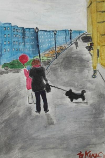 Петербургская прогулка