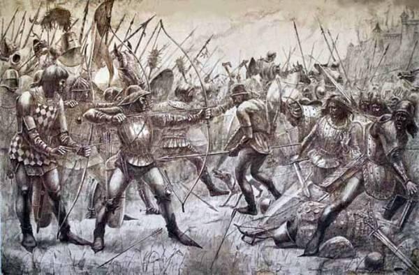 Битва времен столетней войны
