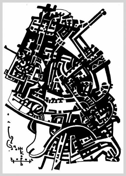 Графическая импровизация, Graphic improvisation, 2006