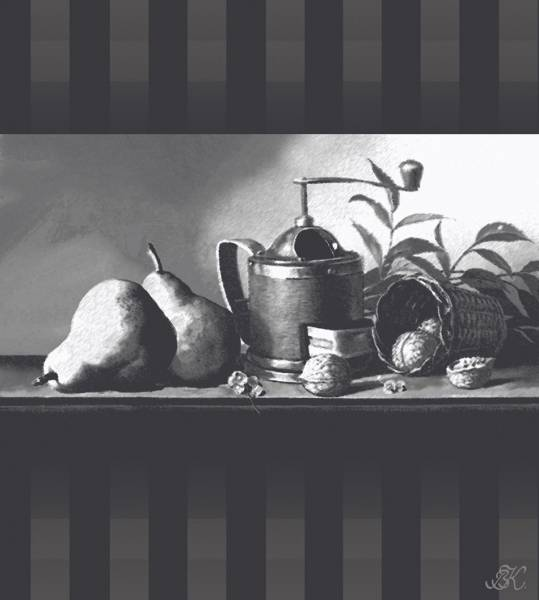 груши и кофемолка