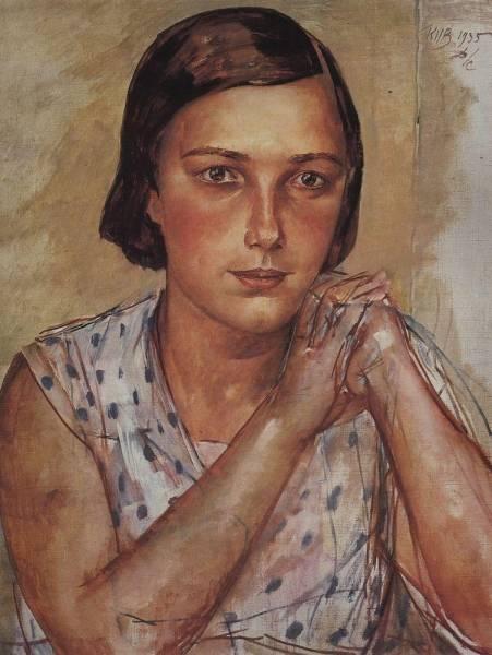 Портрет дочери художника. 1935