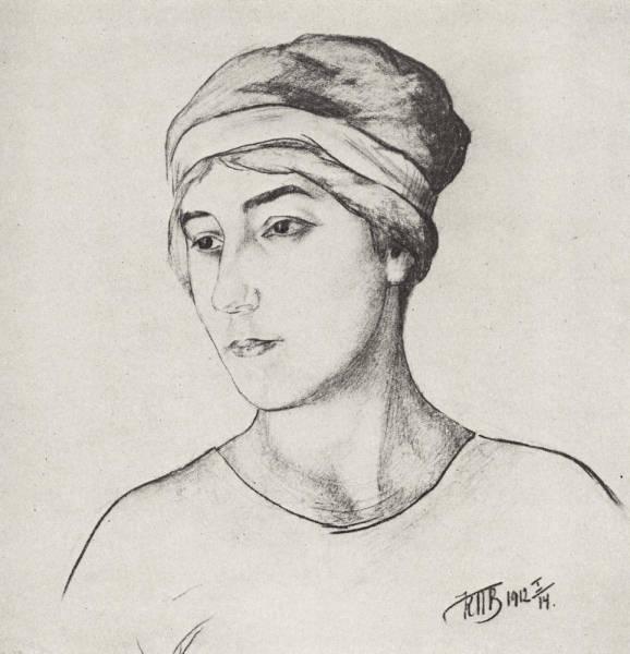Портрет жены художника. 1912
