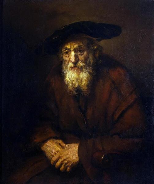 Портрет старика-еврея