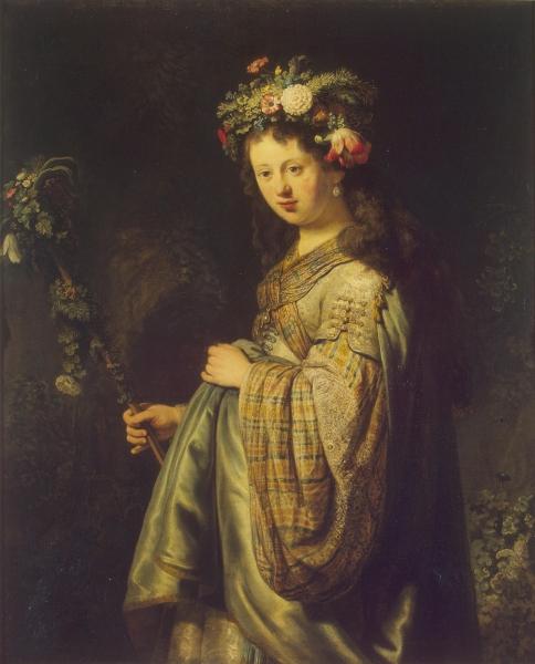 Флора (Портрет Саскии)