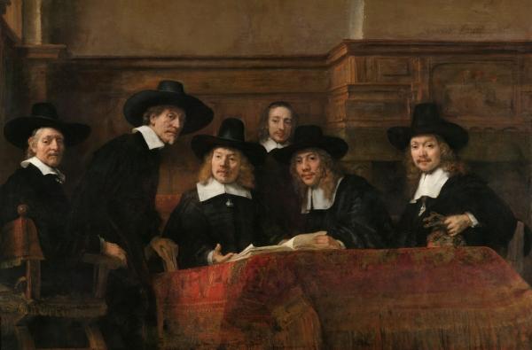 Синдики, или Портрет избранных членов цеха суконщиков