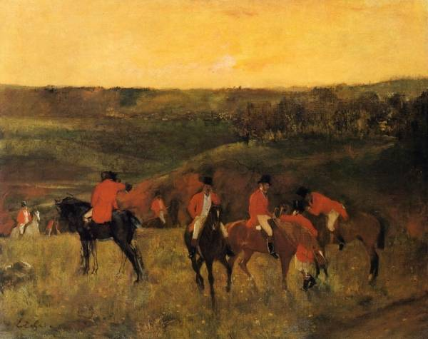 Начало охоты (1863-1865)