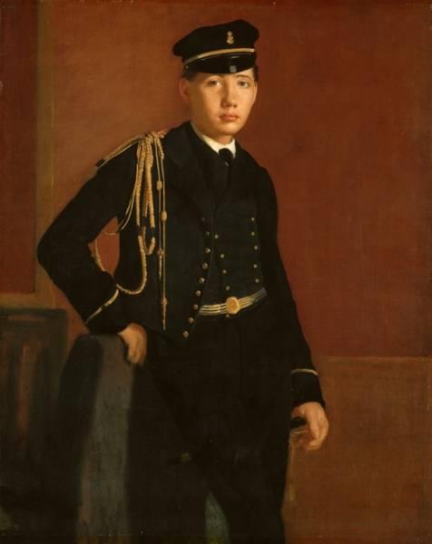 Ашиль де Га в кадетской форме (1856-1857)