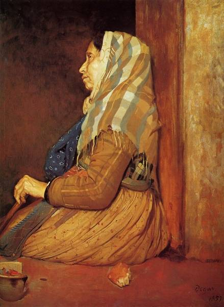 Римская нищенка (1857) (Бирмингем, Музей и галерея искусств)