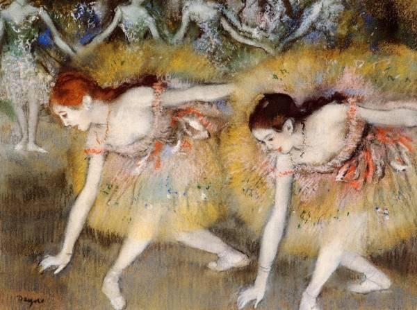 Склонившиеся танцовщицы (1885)