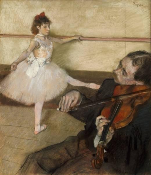 Урок танца (1879)