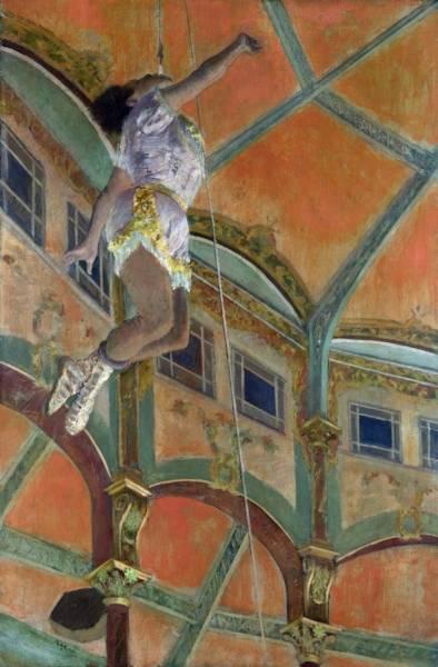 Мадмуазель Ла-Ла в цирке Фернандо (1879)