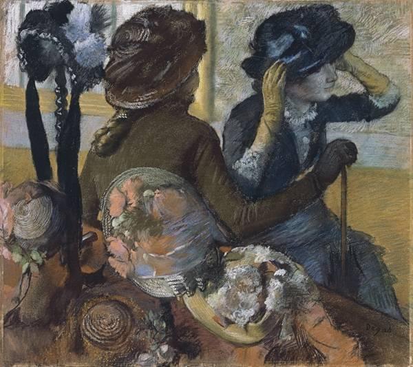В шляпном магазине (1882)