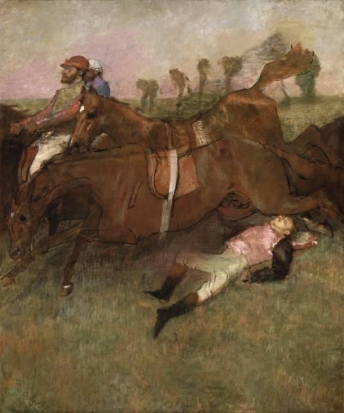 Упавший жокей (1880-1881) (180 х 152)