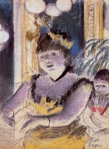 Певица в кафешантане (1879)