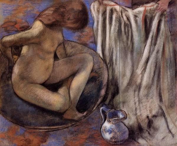 Женщина в тазу (1884)