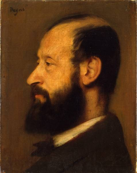 Портрет Жозефа-Анри Альтеса (1868) (25.1 х 20) (Нью-Йорк, Метрополитен)