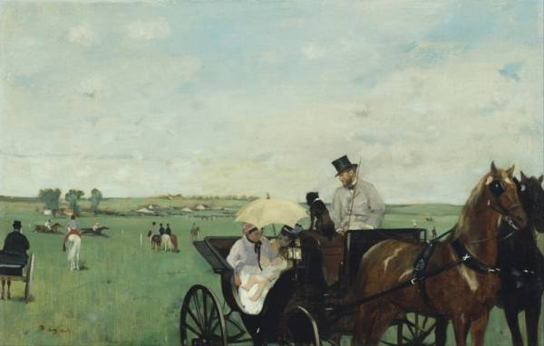 На гонках в сельской местности (1869)