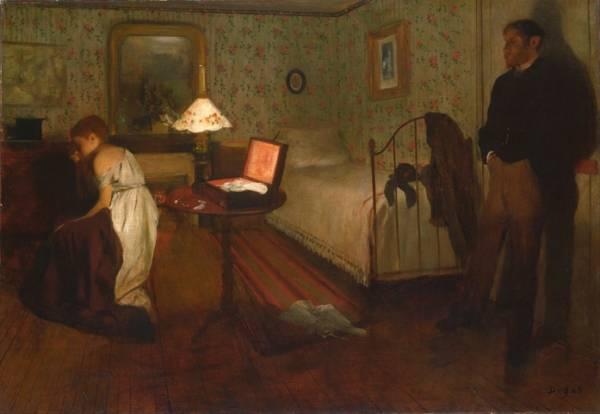 Интерьер (Изнасилование) (1868-1869)