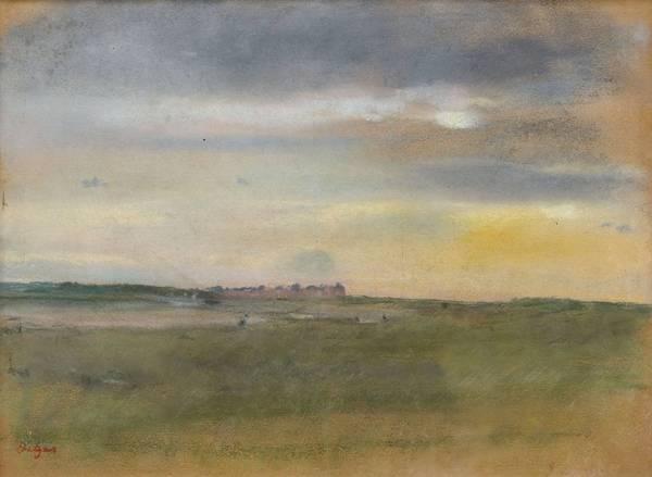 Пейзаж на закате (1869)