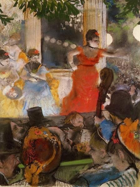 В кафешантане 'Les Ambassadeurs' (1877)