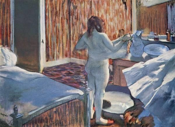 Женщина за своим туалетом (1876-1877)