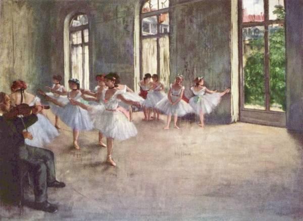 Репетиция (1873-1878)