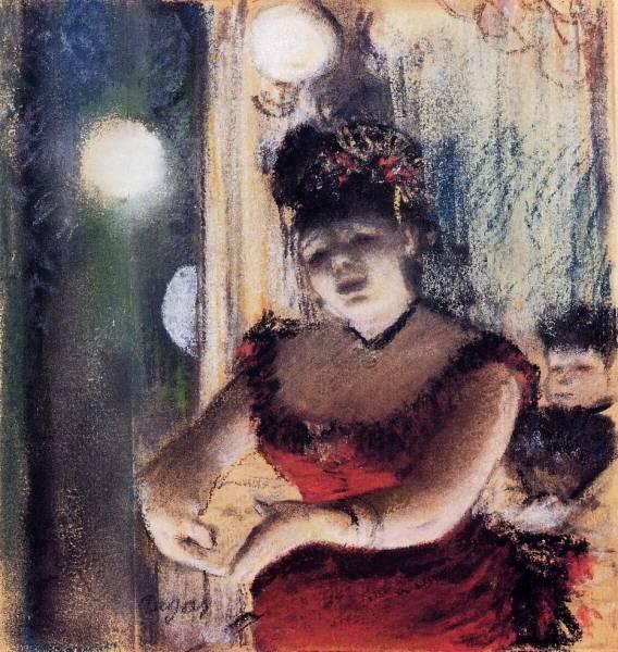 Певица в кафешантане (1878)