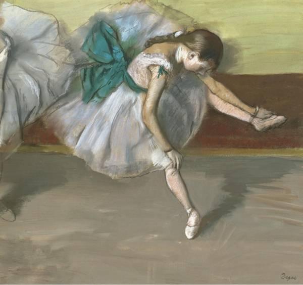 Отдыхающая танцовщица (1879)