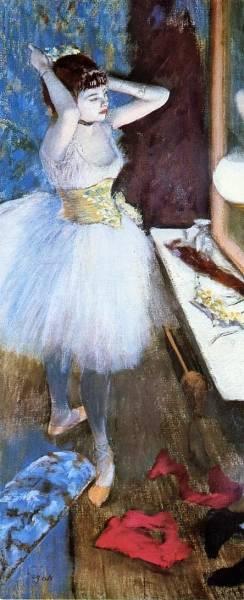 Танцовщица в артистической уборной (1879)