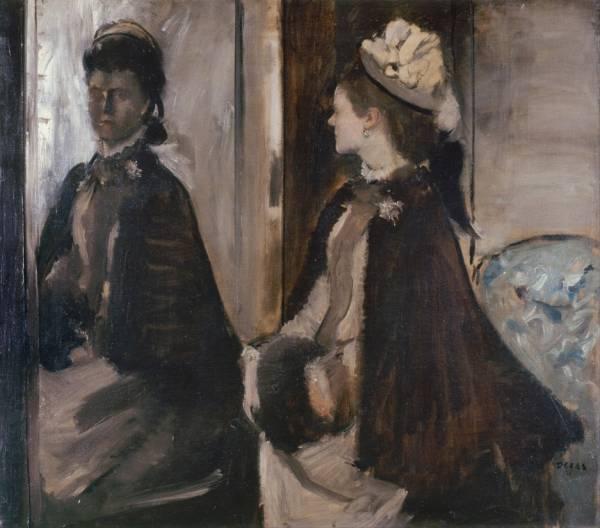 Мадам Jeantaud перед зеркалом (ок.1875)