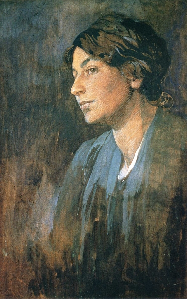 Портрет Марушки, жены художника 1905